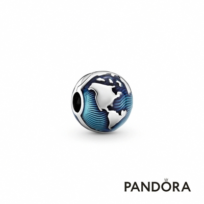 【Pandora官方直營】藍地球固定釦