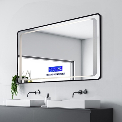 H&R安室家 慕尼黑 藍芽撥放音樂 智能LED發光觸控燈鏡 ZA0199(掛鏡/浴鏡/化妝鏡/鏡子)