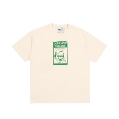 ADIDAS 男 TONGUE STAN TEE 圓領T(短)-GQ8873