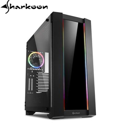Sharkoon 旋剛 CA200G 鋼化玻璃版 透側 ARGB 電腦機殼 主機殼