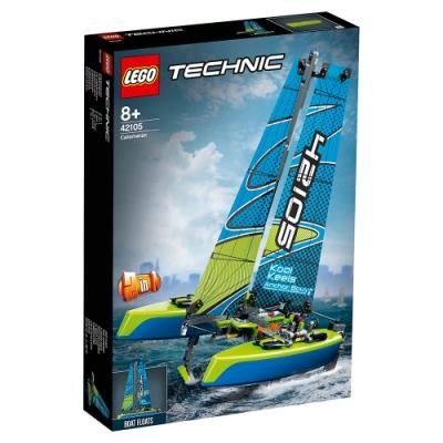 樂高LEGO 科技系列 - LT42105 雙體帆船