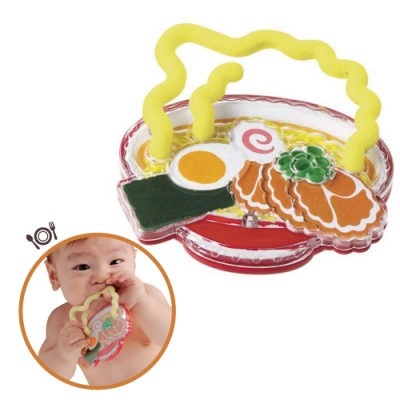日本People-美味拉麵咬舔玩具(4m+)(2020新款/固齒器/咬舔玩具/安撫玩具)