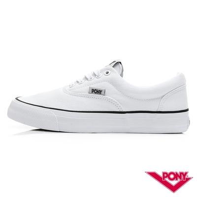 限搶【PONY】SUBWAY-S-滑板鞋 帆布鞋-女-4色