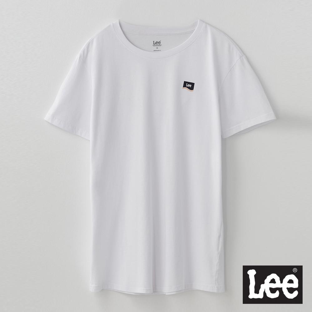Lee短T 胸口小LOGO短袖圓領TEE RG 男款 白色
