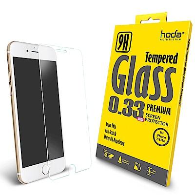【hoda】iPhone 7/8 Plus 2.5D高透光9H鋼化玻璃保護貼-非...