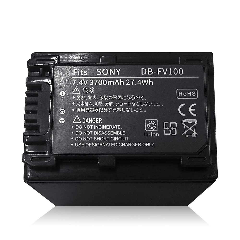 SONY NP-FV100/FH100 V系列 攝影機高容量防爆鋰電池 product image 1