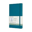 MOLESKINE 2020經典週記手帳12M(L型) -藍綠