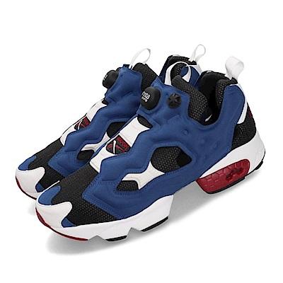 Reebok 休閒鞋 Insta Pump Fury OG 鋼彈 充氣 男女鞋 銳步 情侶鞋 原版配色 三色旗 潮流 白 藍