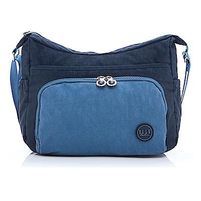 ELLE Active 城市微旅行-側背包/斜背包-大-藍色