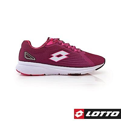 LOTTO 義大利 女 SPEEDRIDE 疾速輕量跑鞋 (紫)