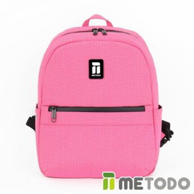 【METODO防盜包】Backpack S 不怕割後背包/休閒旅遊包TSL-602甜蜜桃/耐磨防潑水/旅遊包/休閒包