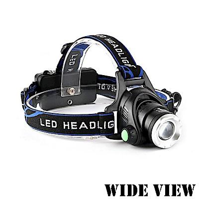 【WIDE VIEW】感應式變焦T6頭燈(NTL-DCV9-P)