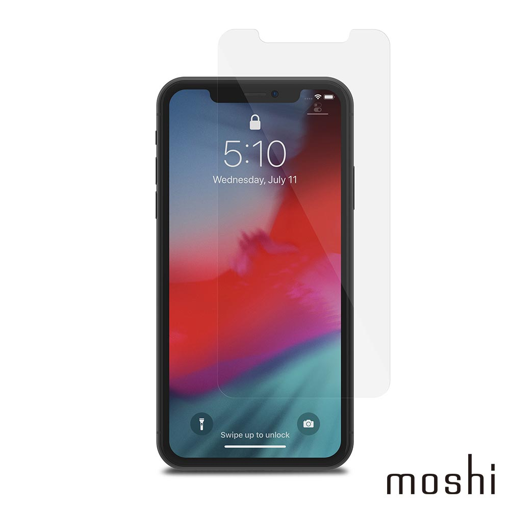 Moshi AirFoil Glass for iPhone 11/XR 清透強化玻璃螢幕保護貼