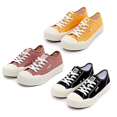 [時時樂] FILA BISCUIT休閒帆布鞋C330U(任選)