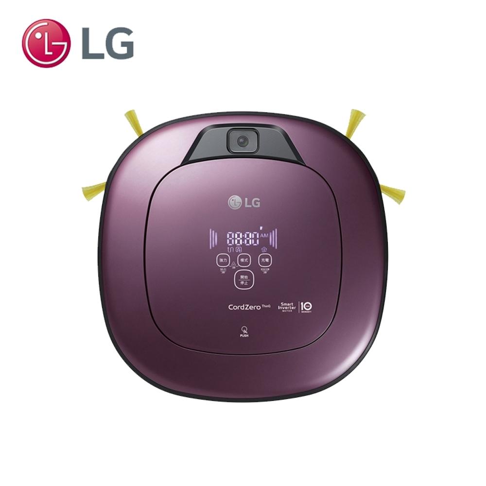 LG樂金 WiFi濕拖清潔機器人 VR6690TWVV (迷幻紫)