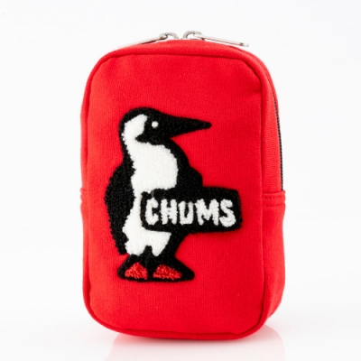 CHUMS Vertical Pouch Sweat 收納包 猩紅 CH602809R080