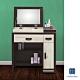 Hampton斯賓賽雙色掀鏡式化妝桌椅組(含椅)-80x40x82cm product thumbnail 1