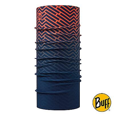 《BUFF》4倍保暖THERMONET動態恆溫頭巾 能量條紋 BF117985-555
