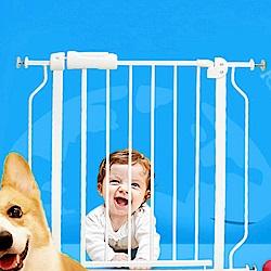 媽媽咪呀 雙向自動上鎖安全門欄/柵欄/圍欄-適用寬度74-87cm