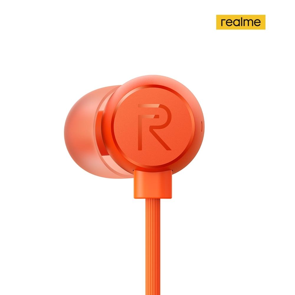 realme Buds 2 有線耳機 橘