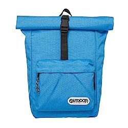 繽紛原色-捲蓋式後背包-天藍 OD151101BL