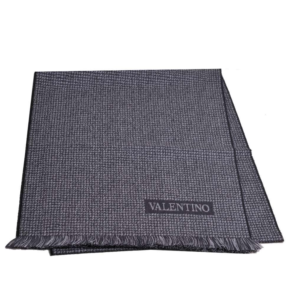VALENTINO 字母LOGO高質感羊毛圍巾(5色)