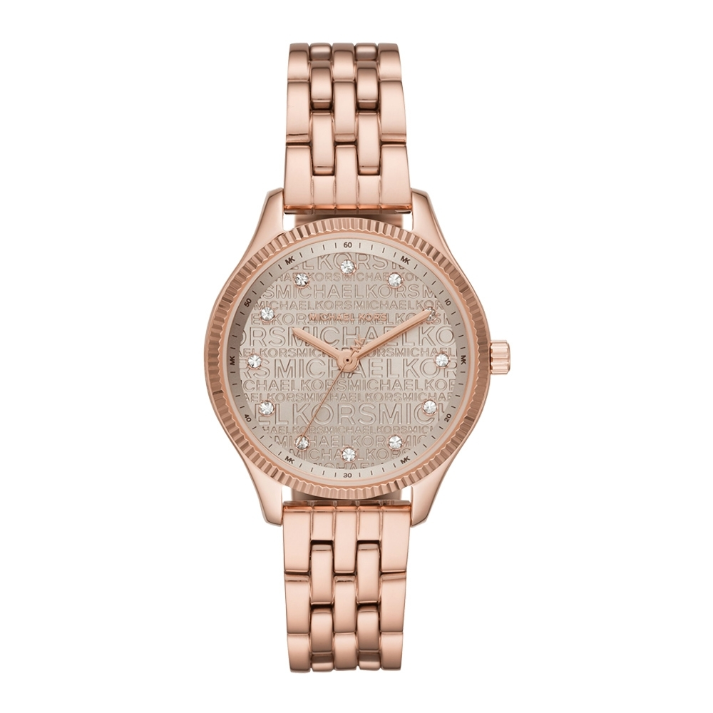 Michael Kors 風華再現晶鑽腕錶-MK6799-36mm