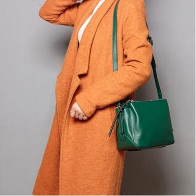 米蘭精品 側背包真皮肩背包-柔軟牛皮休閒多隔層女包包情人節生日禮物5色73yp33