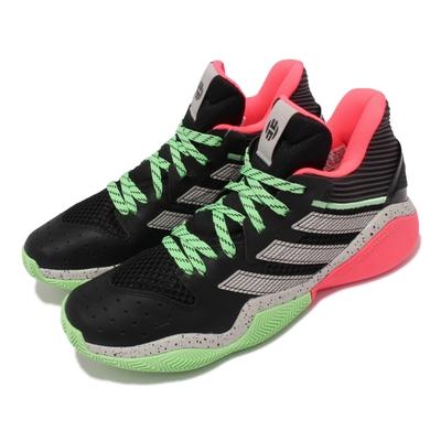 adidas 籃球鞋 Harden Stepback 運動 男鞋 愛迪達 哈登 大鬍子 緩震 包覆 球鞋 黑 綠 FW8486