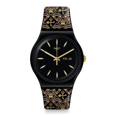Swatch Knightliness 系列手錶 ROYAL KEY 皇家之鑰 -41mm
