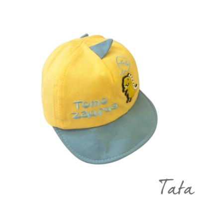 童裝 撞色造型恐龍刺繡鴨舌帽 TATA KIDS