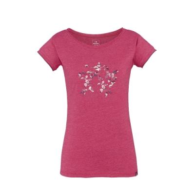 法國【EiDER】女排汗透氣印花短袖T恤 / 6EIV3519