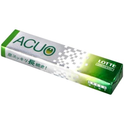 Lotte ACUO薄荷風味口香糖[綠](20g)