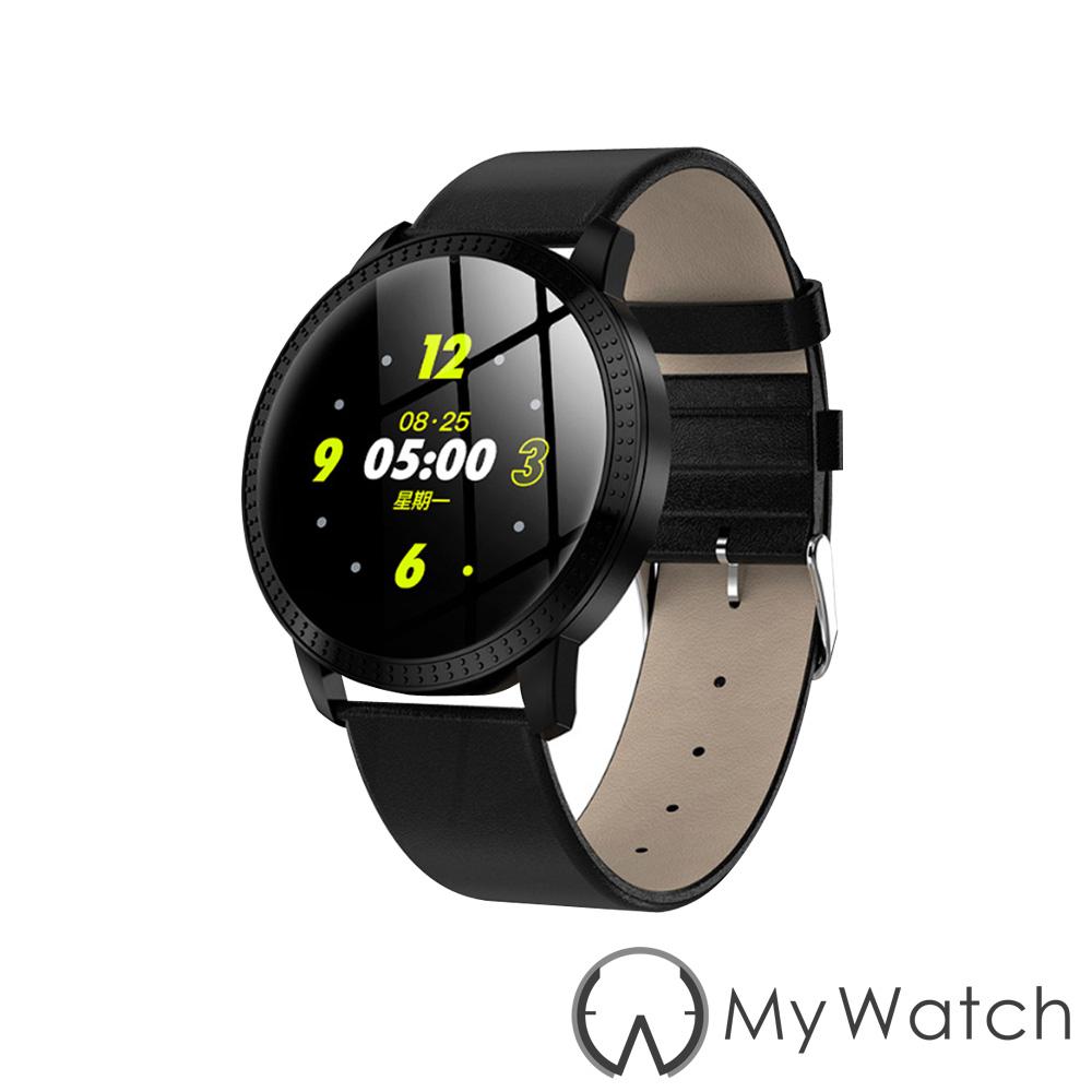 My Watch 簡約時尚生活小助理智慧手環(訊息提醒/計步)-MY20