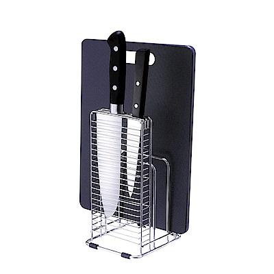 日本ASVEL不鏽鋼6格砧板刀具架