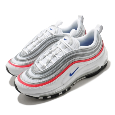 Nike 休閒鞋 Air Max 97 運動 女鞋 經典款 氣墊 舒適 避震 反光 球鞋 白 銀 CZ6087101