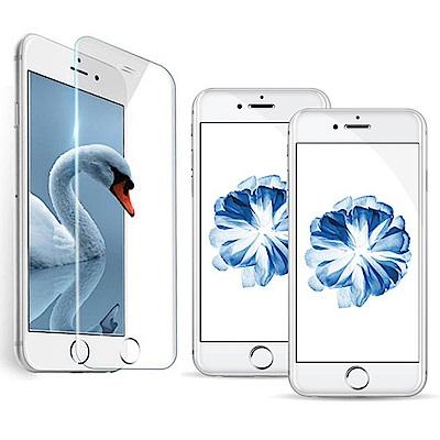 iPhone 7/8 透明高清全屏鋼化玻璃膜手機螢幕保護貼(非滿版)