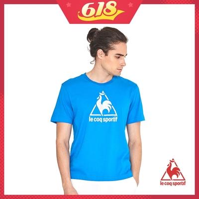法國公雞牌短袖T恤 LWL2310135-男-中藍