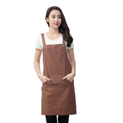 COMET 簡約純棉防油污阻燃圍裙(W10)