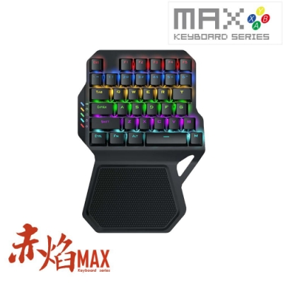 SUN-YES藍牙電競鍵盤R0051-MAX赤焰 送贈品2選1
