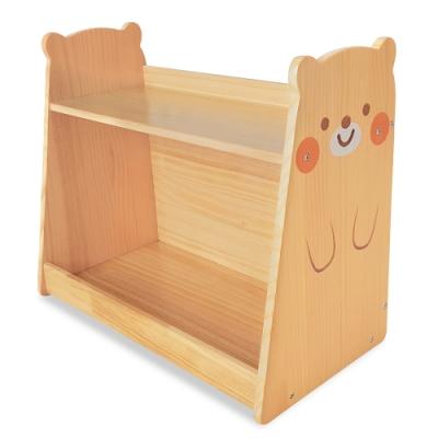 kikimmy 小熊原木收納架/書櫃