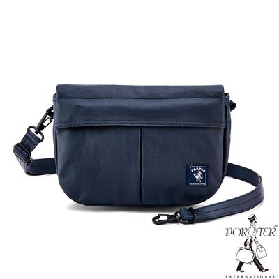 PORTER - 秘境探險FREELAND機動休閒斜背包(S) - 深藍