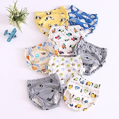 JoyNa 6層紗嬰兒尿布褲 可調式隔尿褲-6件入