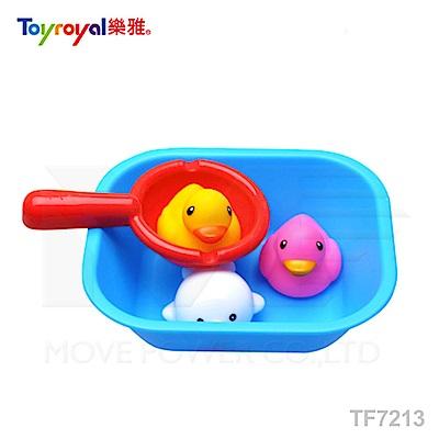 【任選】日本《樂雅 Toyroyal》水瓢洗澡組