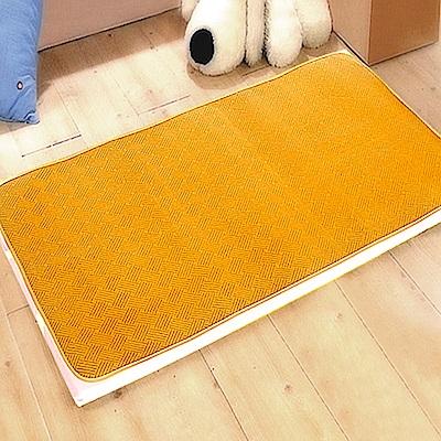 凱蕾絲帝-台灣製造不夾膚-舒爽紋路紙纖涼蓆(嬰兒床專用)60X120CM