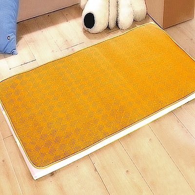 凱蕾絲帝-台灣製造不夾膚-舒爽紋路紙纖涼蓆(嬰兒大床專用)70X130CM