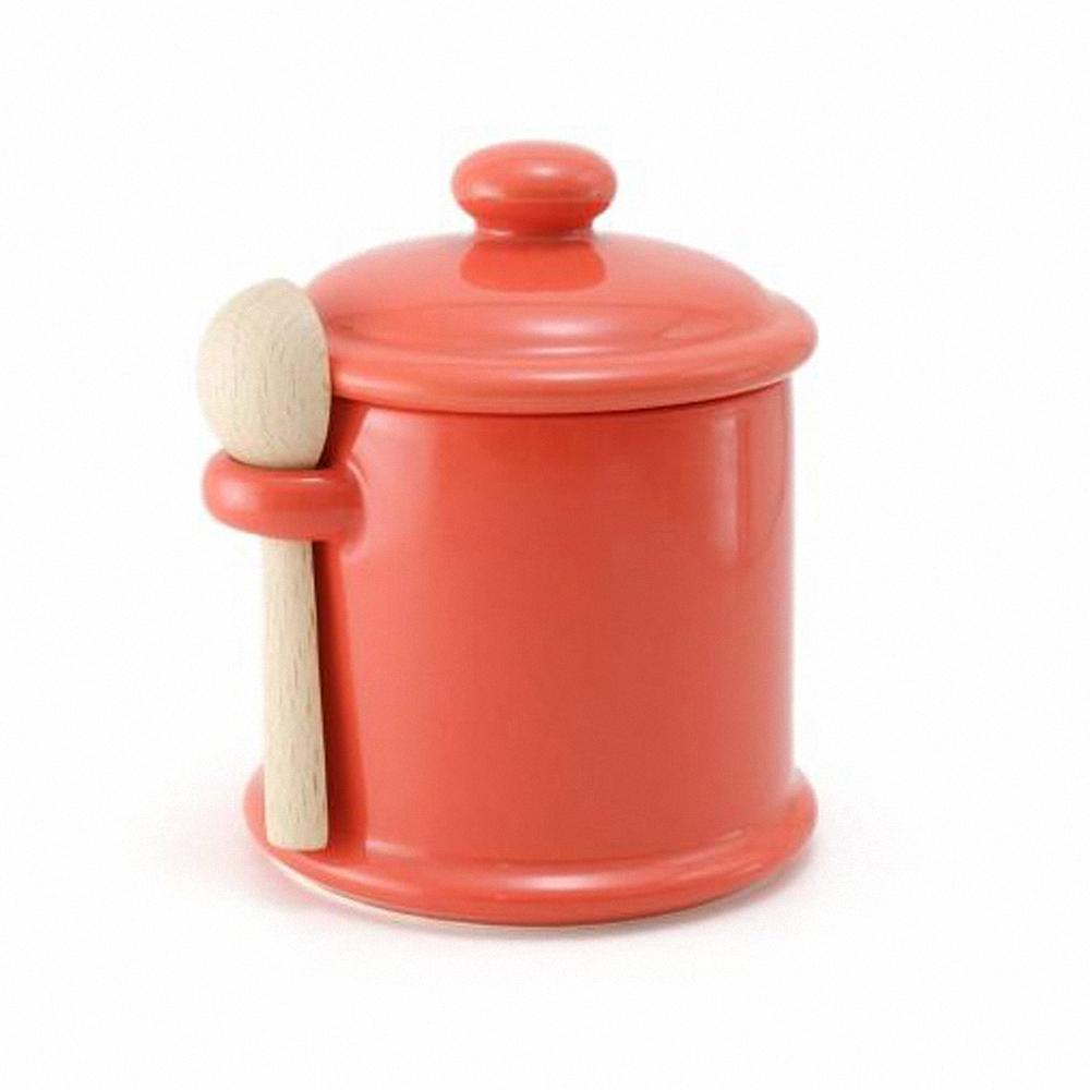 ZERO JAPAN 陶瓷儲物罐(蘿蔔紅)300ml
