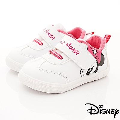 迪士尼童鞋 米奇印花運動款 ON18605白(小童段)