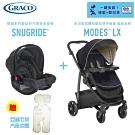 GRACO-MODES LX多功能型雙向嬰兒手推車+SNUGRIDE 提籃汽車安全座椅組合