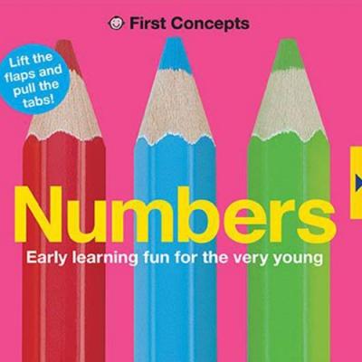 Numbers-First Concepts 寶寶的第一套基礎認知翻翻書(英國版)